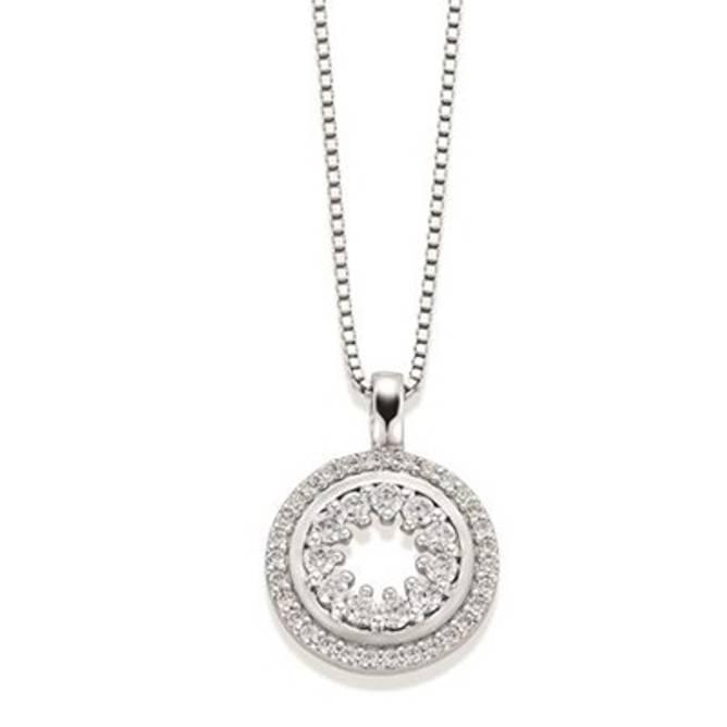 Bilde av Birgithe smykke, sølv med