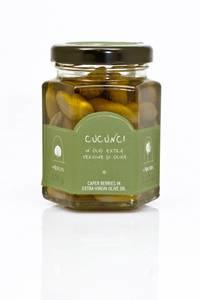 Bilde av Villkapers i olivenolje