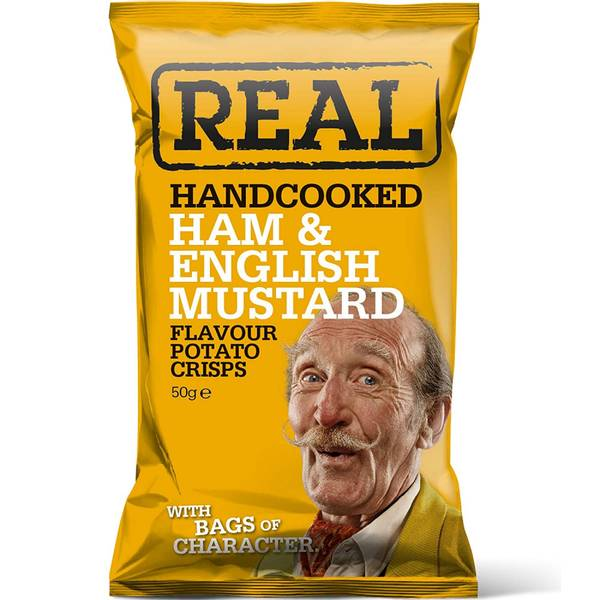 Real Ham & English mustard