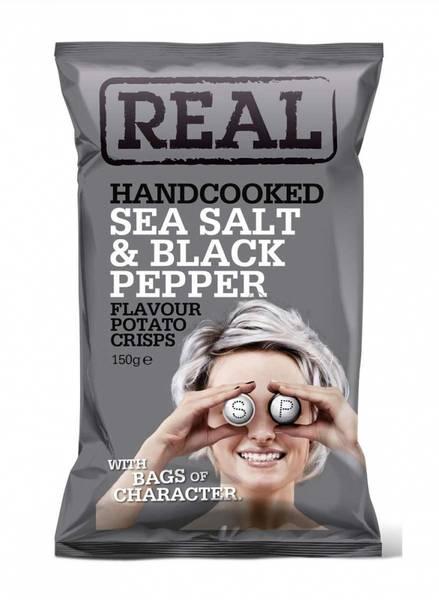 Real Sea salt & Black pepper