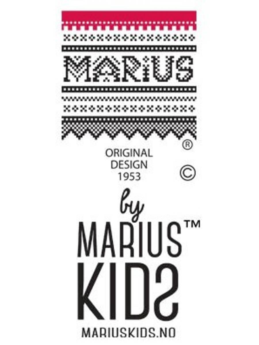 MARIUS KIDS- MARIUS CARDIGAN I ULL BLÅ