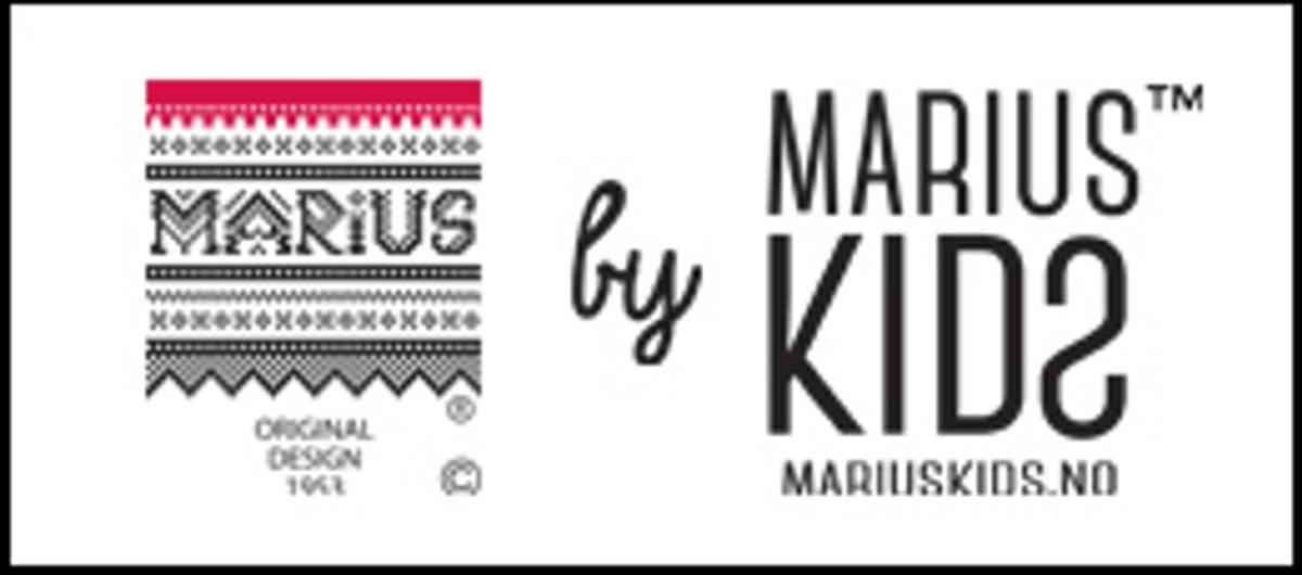 MARIUS KIDS - MARIUS LUE I ULL TIL BARN OG VOKSEN MØRKEBLÅ