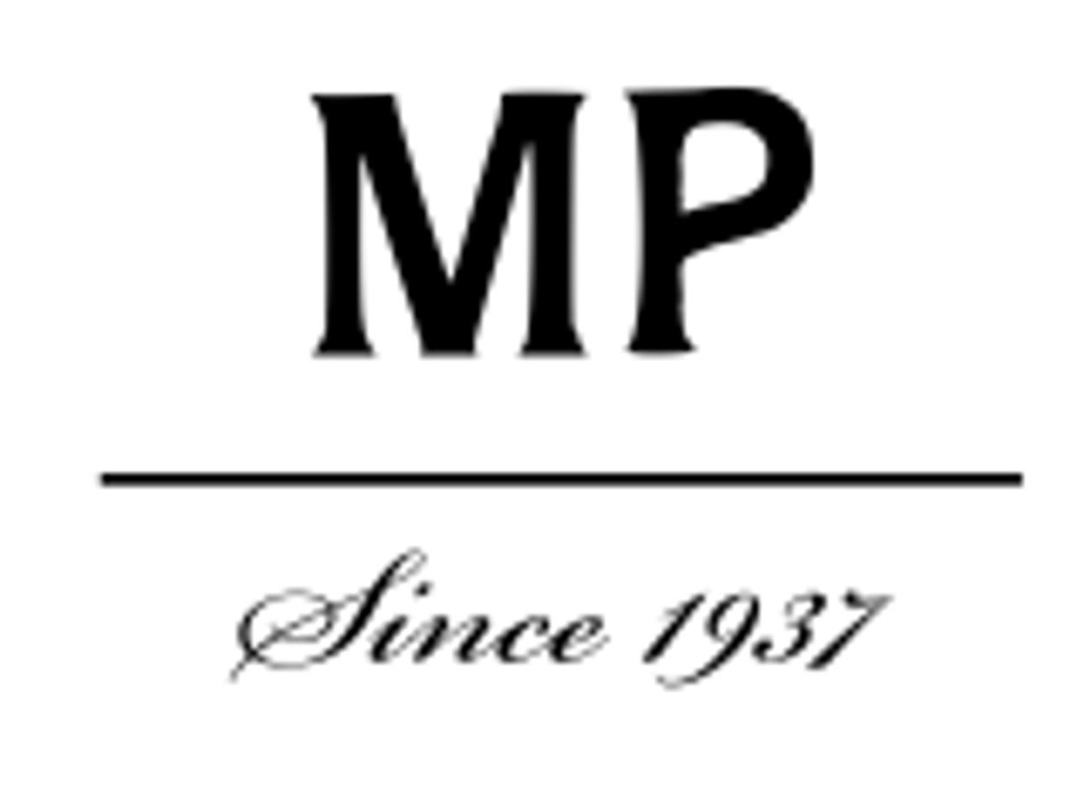 MP - STRØMPEBUKSE I ULL MED GLITTER ROSE DUST