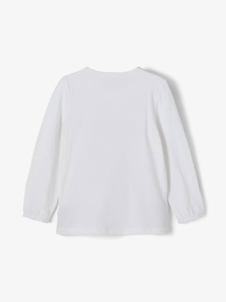 NAME IT - GENSER BAMBI FLORA BRIGHT WHITE