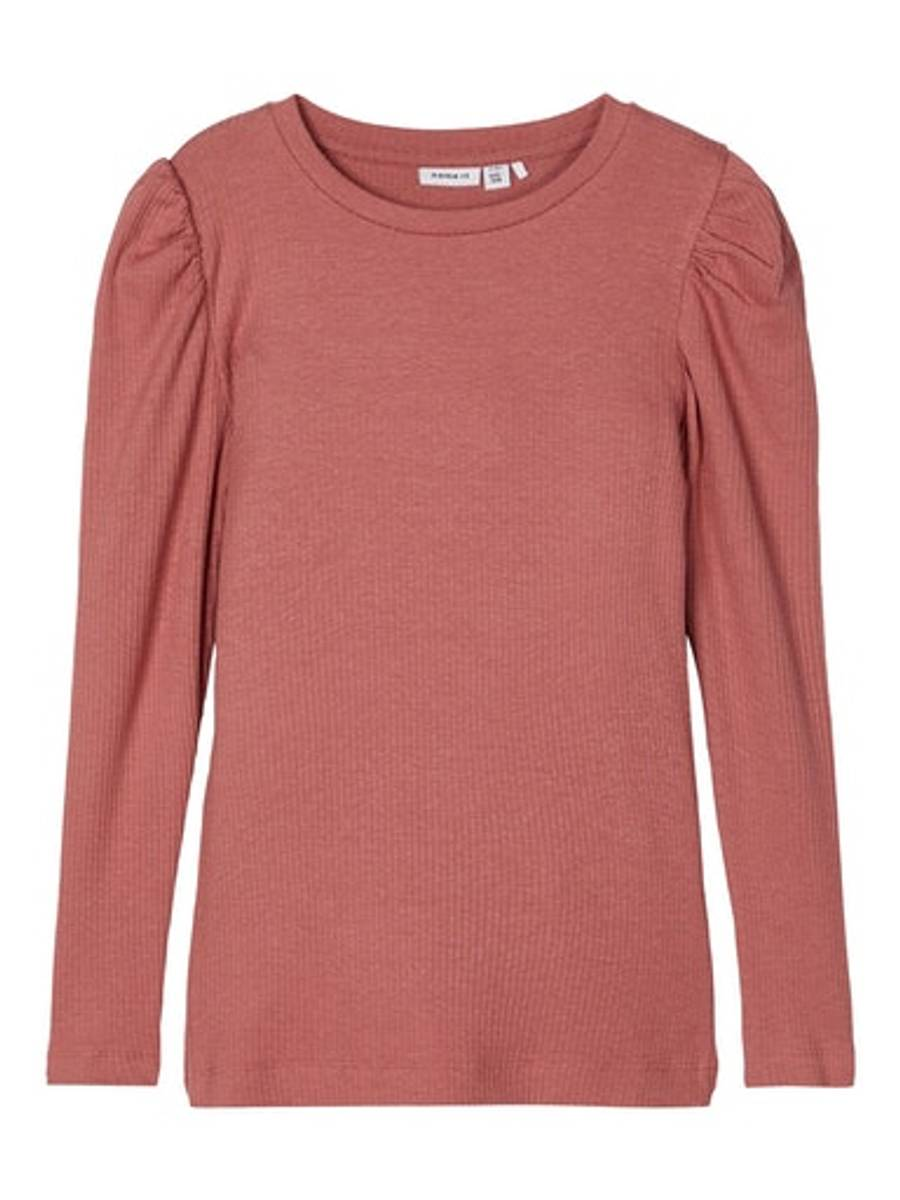 NAME IT - GENSER KABEXI SLIM TOP WITHERED ROSE