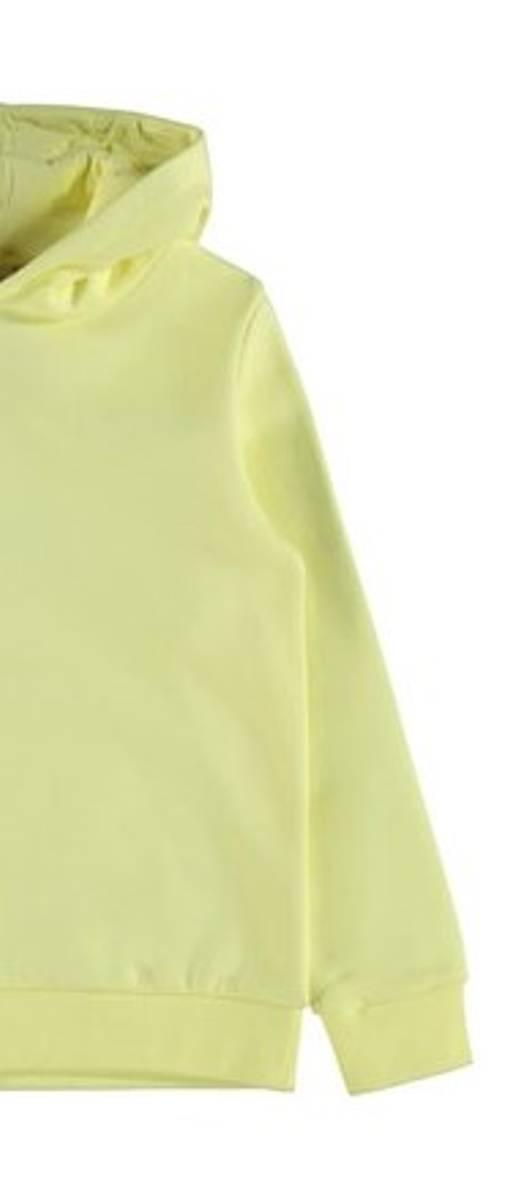 NAME IT -  HETTEGENSER SWEAT YELLOW PEAR