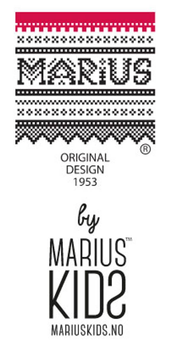 MARIUS KIDS - MARIUS ROMPER I LYSEBLÅ ULL