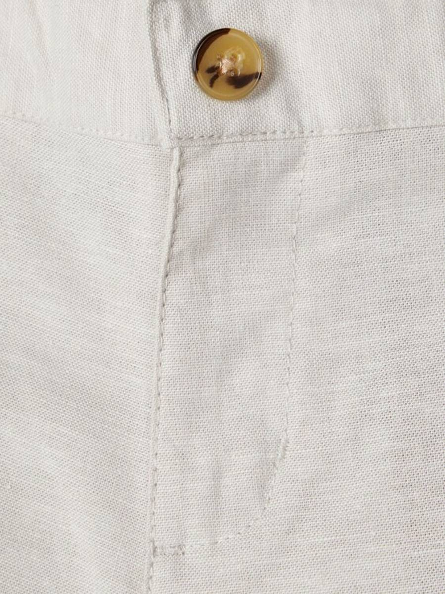 NAME IT - SHORTS LIN FALCON WHITE PEPPER