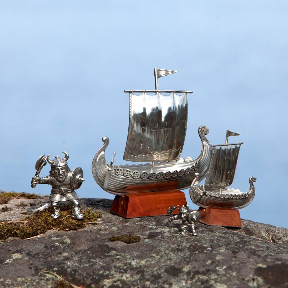 Vikingskip 22 cm