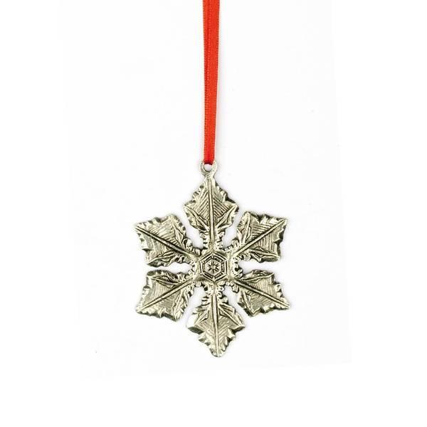 Bilde av Ornament snøflak 7x7cm