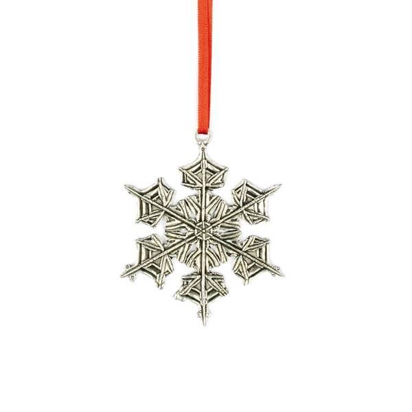 Bilde av Ornament snøkrystall 7,5x7,5cm