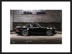 Bilde av Black Porsche (60x80)