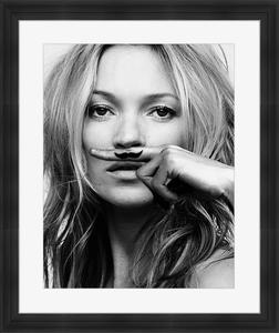 Bilde av Kate Moss Moustache(60x50)