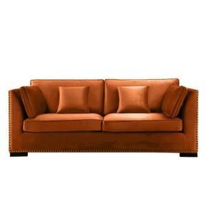 Bilde av Manhattan Sofa - Velour Orange