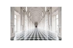 Bilde av Harlequin Hall - Glass Bilde (160x120)