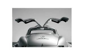 Bilde av Mercedes - Glass Bilde (150x90)