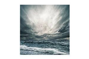 Bilde av Himmel og Hav - Glass Bilde (120x120)