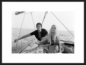 Bilde av Alain Delon & Birgitte Bardot (60x80)