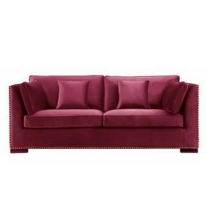 Bilde av Manhattan Sofa - Velour Burgunder