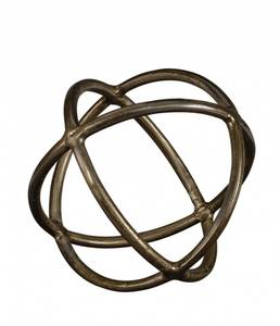 Bilde av CARLO Dekorasjon Stor - Vintage Brass