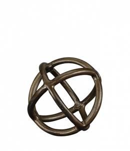 Bilde av CARLO Dekorasjon Liten - Vintage Brass
