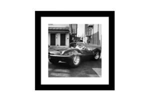 Bilde av Steve McQueen Nr. 2 - Ramme m/galss (60x60)