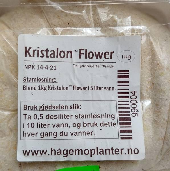 Kristalon Flower NPK 14-4-21, 1 kg