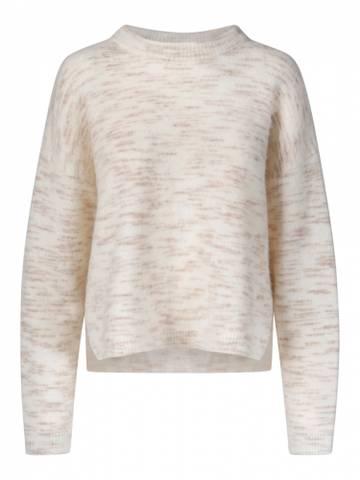 Bilde av One and Other Tiger Sweater Offwhite/Camel