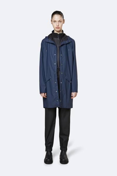 Bilde av Rains Long Jacket Blue
