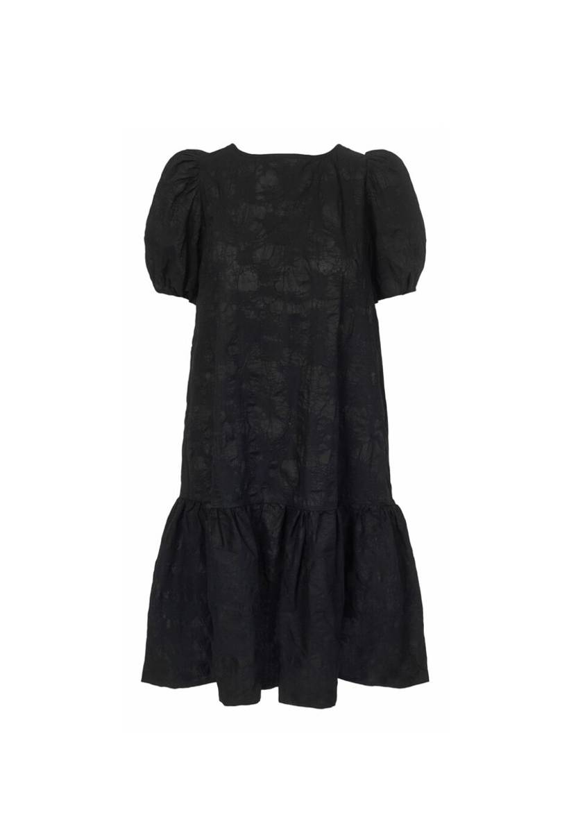 One and Other Celine Dress Black
