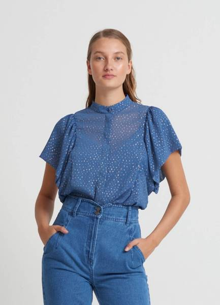 Bilde av Bruuns Bazaar Marigold Octavia Shirt Riverside
