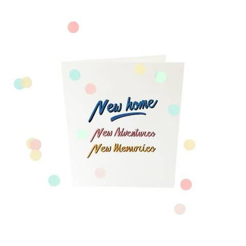 Bilde av The Gift Label Confetti Card DIV