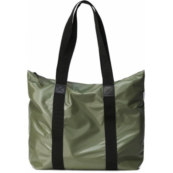 Bilde av Rains Tote Bag Rush Shiny Olive