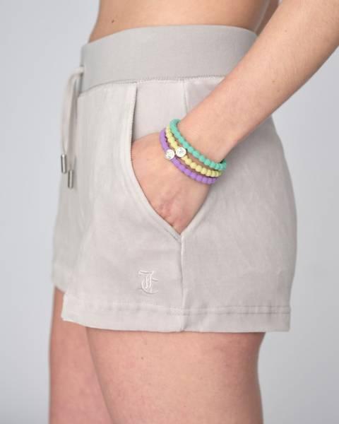 Bilde av Juicy Couture Eve Shorts Cotton Rich Quiet Grey