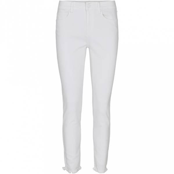 Bilde av IVY Alexa Ankle Jeans White Distressed