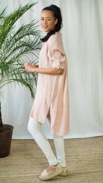 Bilde av Nectar Lilly Linen Shirt Magnolia