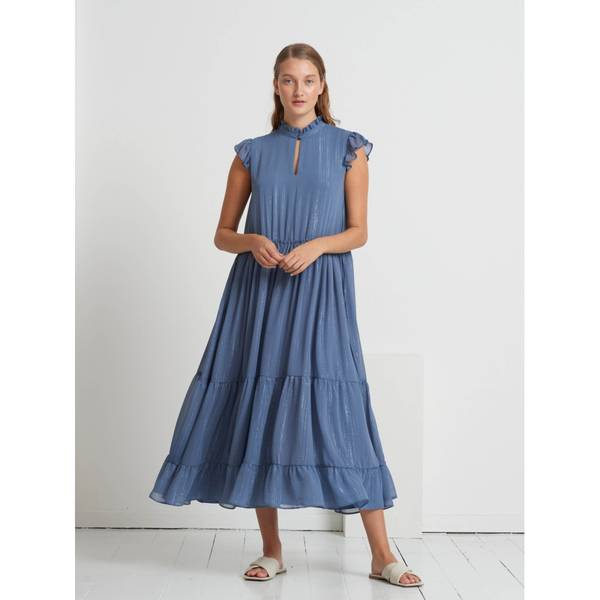 Bilde av Bruuns Bazaar Senna Ofia Dress Riverside