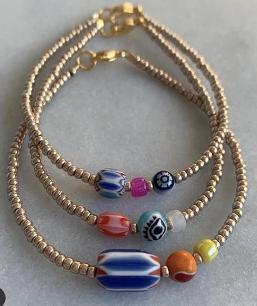 Bilde av Petit Perles Bracelet vintage Lucca Unik