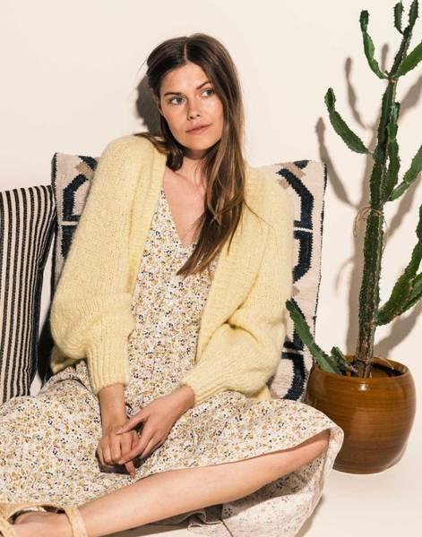 Bilde av Noella Fora Knit Bright Yellow