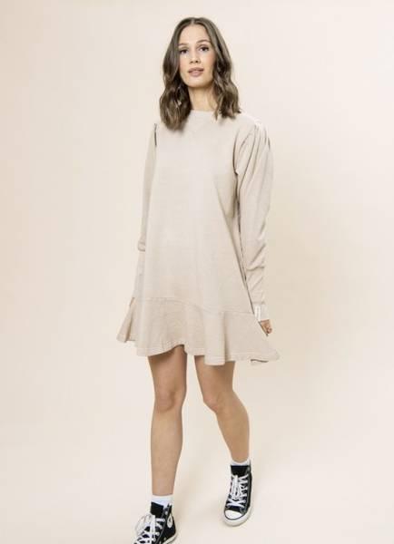 Bilde av MissMaya Kjersti Dress Beige