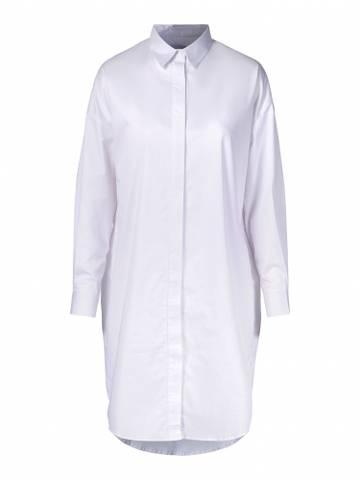 Bilde av One & Other Betty Shirt Dress White