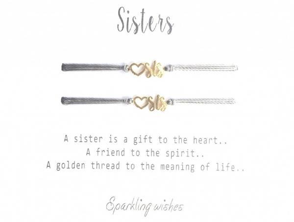 Bilde av Sparkling Wishes Sisters Gold/Light Grey