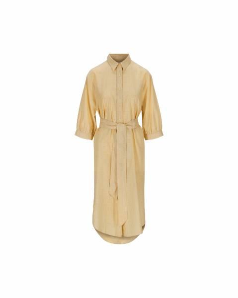 Bilde av IBEN Piero Dress Pampas Yellow