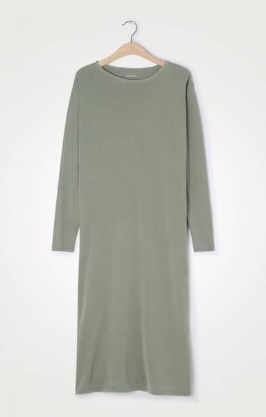 Bilde av American Vintage Vegiflower Dress Olive