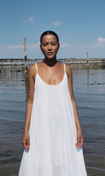 Bilde av Nectar Manuela Dress White