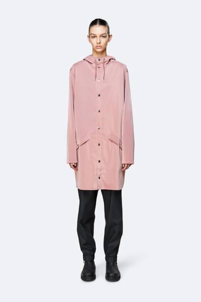 Bilde av Rains Long Jacket pink