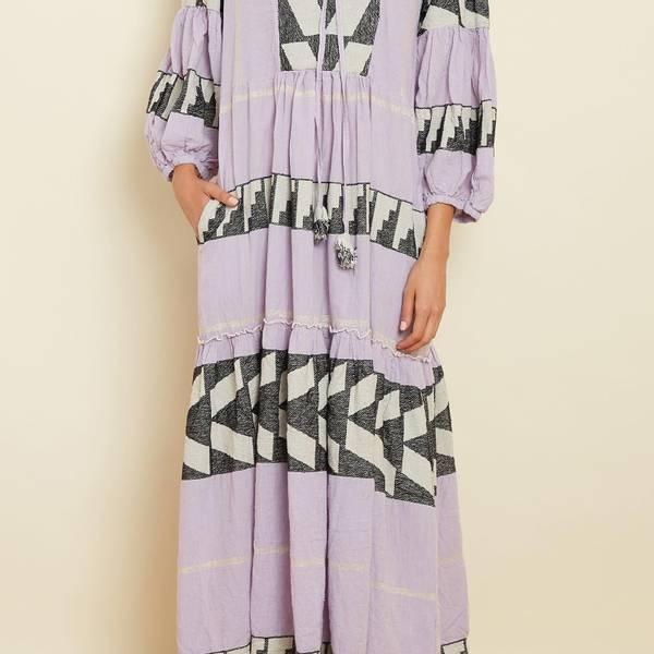 Bilde av Pearl and Caviar Zakar Maxi Dress Lavender