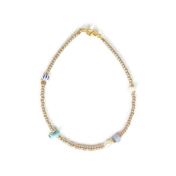 Bilde av Petit Perles Bracelet Core Clémece Turkis/striper
