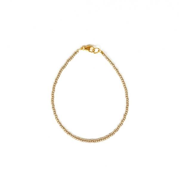 Bilde av Petit Perles Bracelet Basic Malina Gull