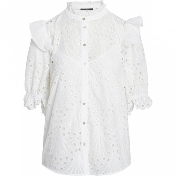 Bilde av Bruuns Bazaar Peacock Carola Shirt White
